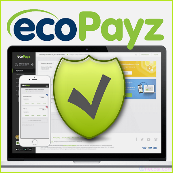 ecoPayz-エコペイズアカウント作成