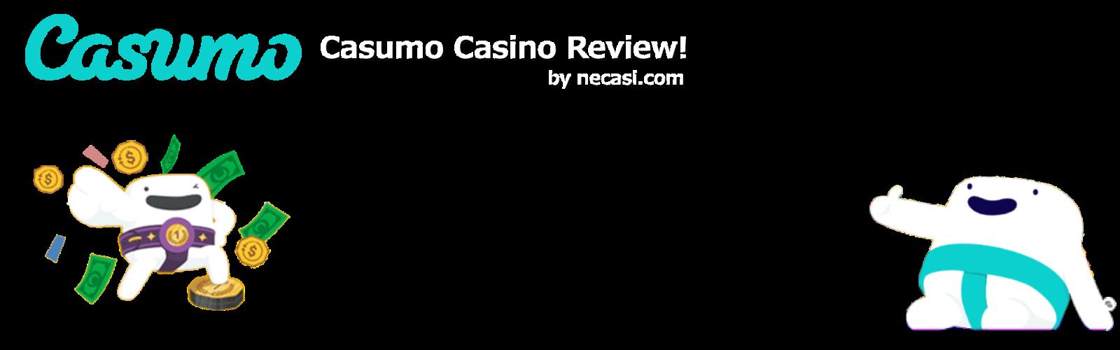オンラインカジノCasumo-カスモレビューヘッダー